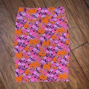 LuLaroe Floral Cassie Skirt-large
